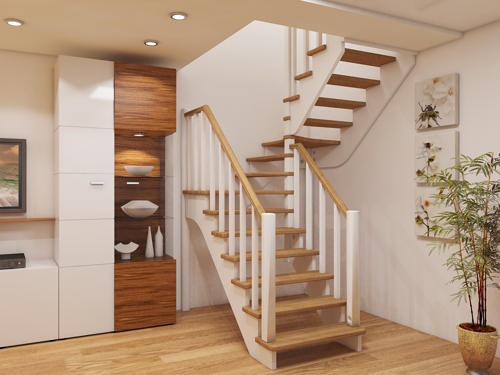 Лестницы на второй этаж в частном доме фото 78