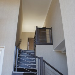 Комбинированное ограждение для лестницы Минск