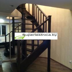цена установки деревянной лестницы
