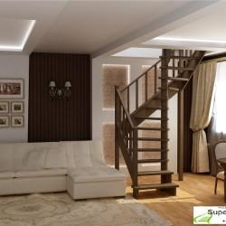 винтовые лестницы для дачи