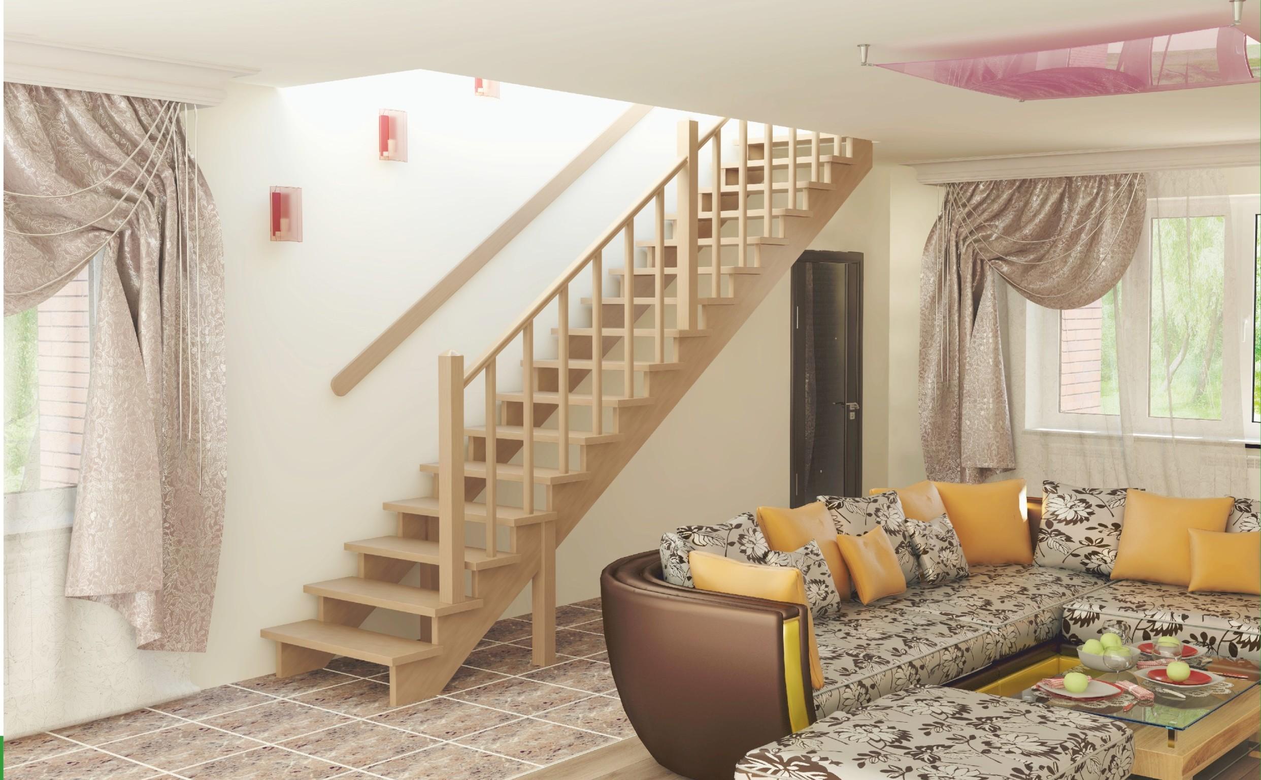 выписки, одномаршевые лестницы на второй этаж фото требуют