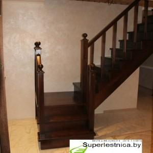 деревянные лестницы с площадкой