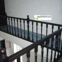 деревянные ограждения для лестниц