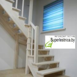 деревянная лестница на второй этаж своими руками К-101