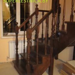 Деревянные лестницы на косоуре
