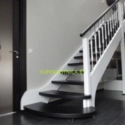 деревянные лестницы из бука 2