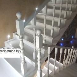 деревянные лестницы от производителя в Минске бук7