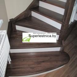 купить деревянные лестницы из ясеня 7