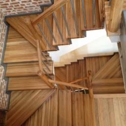 лестница на бетонном оснавании 3